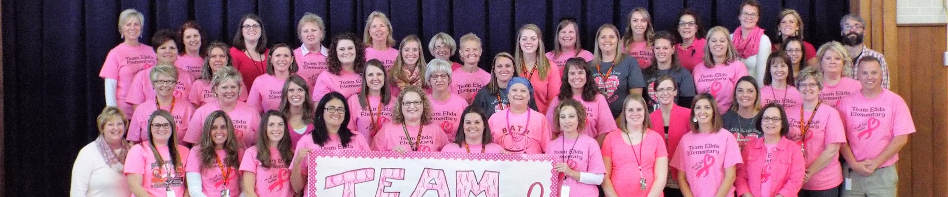 Team Elida! Our Elementary Staff & Teachers Are Great!