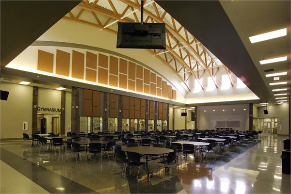 ... Early construction photos, Architect's Color Rendering. Elida Local  Schools ...